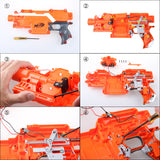 JGCWorker High End Flywheel  Kits Set for Nerf N-strike Elite Stryfe Blaster - Nerf Mod Kits -Worker Mod Kits