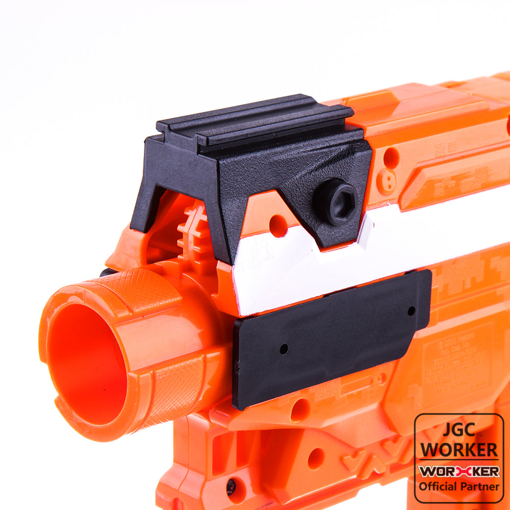 JGCWORKER Tactical Rail Adaptor Front Top and Sides for Nerf STRYFE - Nerf Mod Kits -Worker Mod Kits