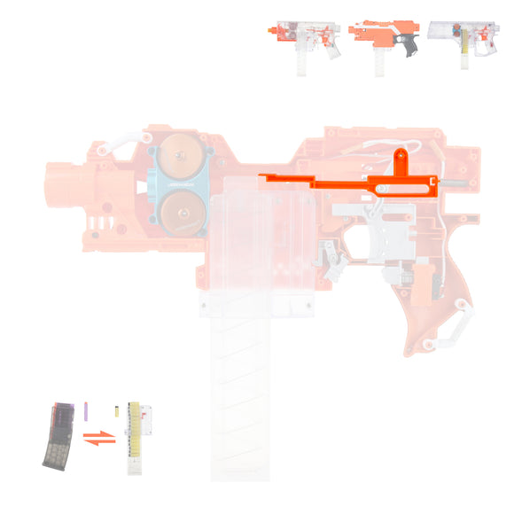 JGCWorker Pushing Rod Kit for Nerf Stryfe Worker Swordfish, Mod Kits Suitable for Nerf Elite Both Long Short Darts - Nerf Mod Kits -Worker Mod Kits