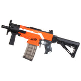 JGCWorker STF-W008-01-A MP5-K A Style Mod Kits Set for Nerf N-Strike Elite Stryfe Blaster - Nerf Mod Kits -Worker Mod Kits
