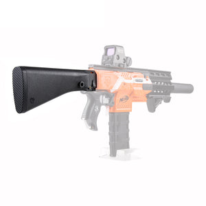 JGCWorker Modified Rear Cap Turning Connector Adaptor + M16 ABS Shoulder Stock for Nerf Blaster - Nerf Mod Kits -Worker Mod Kits