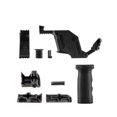 JGCWorker STF-W004-3 C Style KRISS Vector Mod Kits Set for Nerf N-Strike Elite Stryfe Blaster