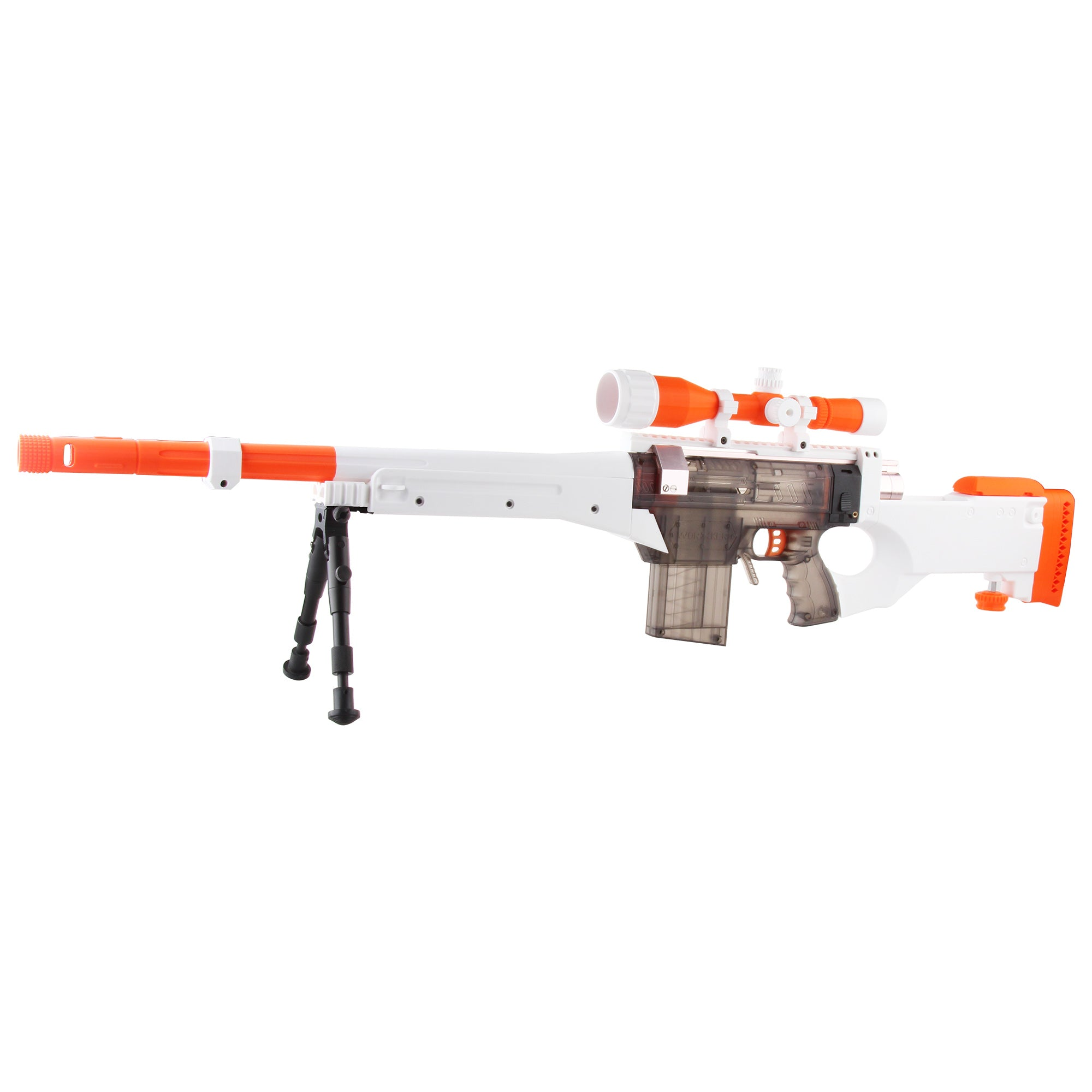 JGCWorker Prophecy-R Series L96 AWP Foam Play Toy Blaster - Nerf Mod Kits -Worker Mod Kits