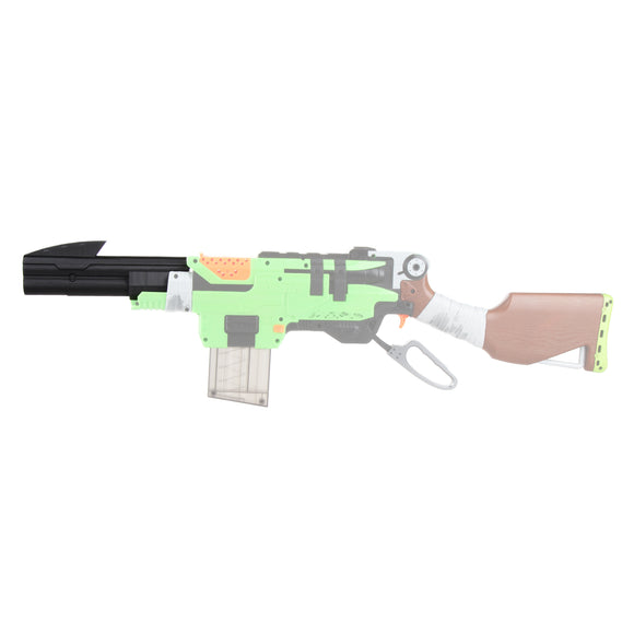 JGCWorker Mod Kit Set Upgrade Attachment for Nerf Zombie Strike SlingFire Blaster - Nerf Mod Kits -Worker Mod Kits