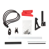 JGCWorker F10555 No.213 Esper Pull-up Version A to Pull Down Verison B Kit - Red + Black - Nerf Mod Kits -Worker Mod Kits
