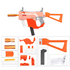 JGCWorker STF-W004-5 E Style KRISS Vector Mod Kits Set for Nerf N-Strike Elite Stryfe Blaster - Nerf Mod Kits -Worker Mod Kits