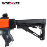 JGCWorker STF-W008-01 MP5-K A Style Mod Kits Set for Nerf N-Strike Elite Stryfe Blaster - Nerf Mod Kits -Worker Mod Kits