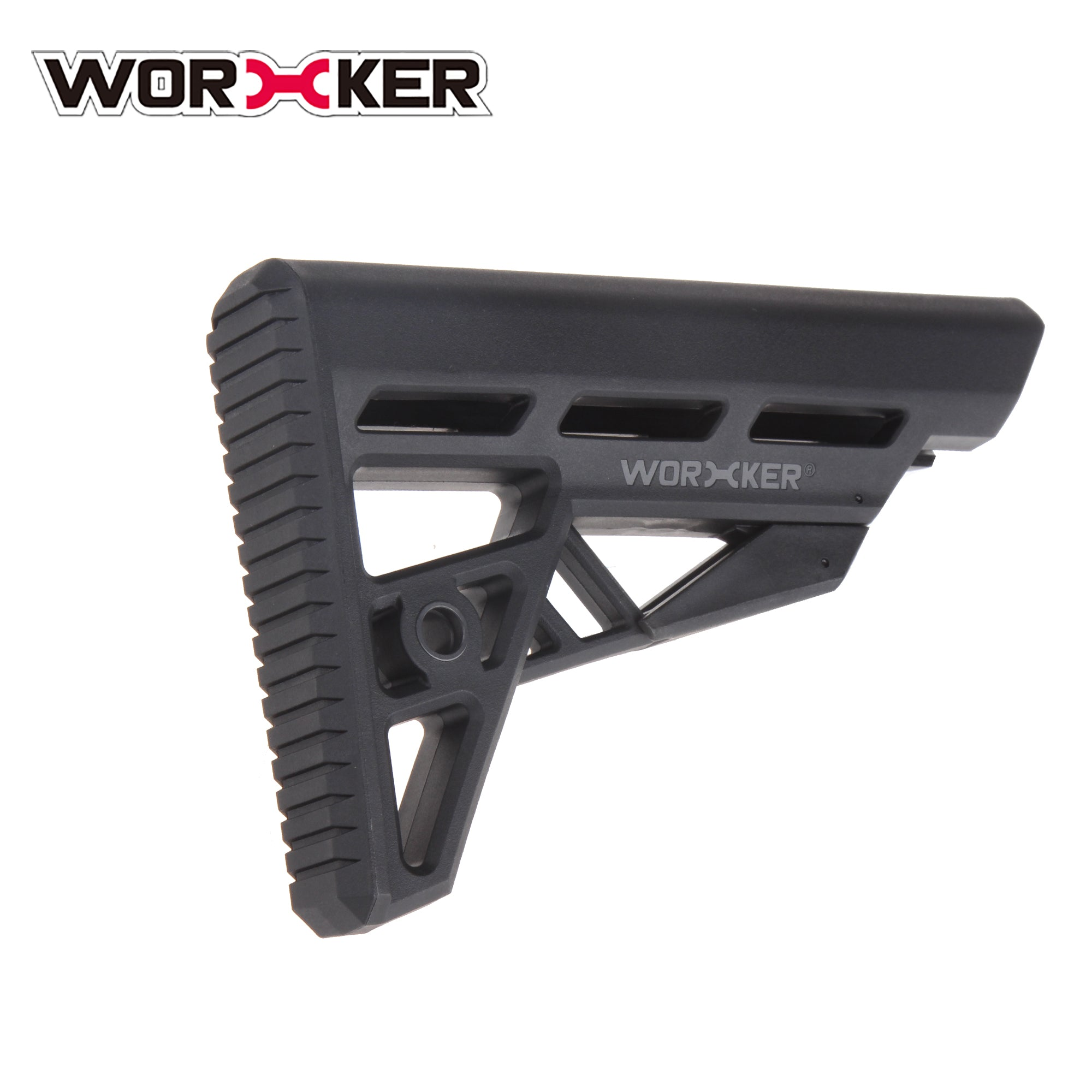 JGCWorker Shoulder Stock Kits with Adapter for Nerf Blaster - Nerf Mod Kits -Worker Mod Kits