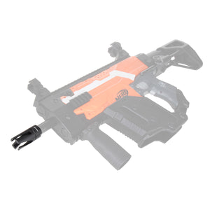 JGCWORKER Aluminum Alloy Cyclone Flash Hider for Nerf Blaster - Nerf Mod Kits -Worker Mod Kits