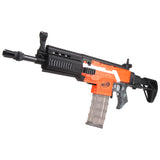 JGCWorker STF-W003-01 A Style FN SCAR Mod Kits Set With Black Adaptor for Nerf N-Strike Elite Stryfe Blaster - Nerf Mod Kits -Worker Mod Kits