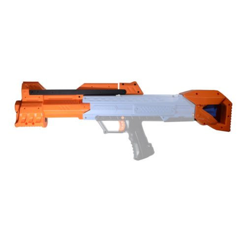 JGCWorker 3D Printing Pump kit Stock for Nerf Rival Apollo XV700 Modify Toy Color Orange (Blaster not included) - Nerf Mod Kits -Worker Mod Kits