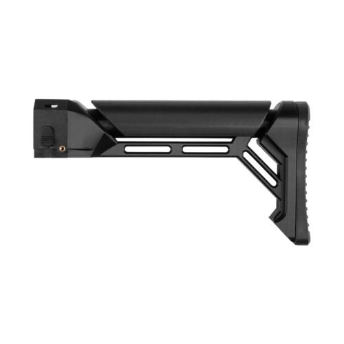 3D Printed Shoulder Stock Replacement Model 149 For Nerf N-Strike Elite Stryfe Color Black - Nerf Mod Kits -Worker Mod Kits