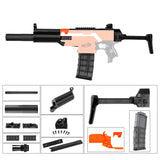 JGCWorker STF-W007-A MP5-SD Style Mod Kits Set for Nerf N-Strike Elite Stryfe Blaster - Nerf Mod Kits -Worker Mod Kits