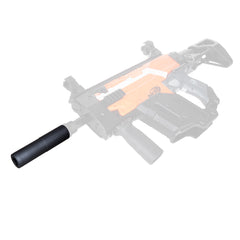 JGCWORKER ABS Plastic Long ACC CQB Silencer for Nerf Blaster - Nerf Mod Kits -Worker Mod Kits