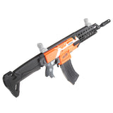JGCWorker STF-W024 AK Alfa Style Mod Kits Set With Black Adaptor for Nerf N-Strike Elite Stryfe Blaster - Nerf Mod Kits -Worker Mod Kits