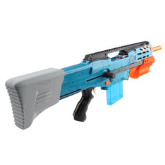 JGCWorker F10555 3D Printed CJ-001-2 Kits Set for Nerf Zombie Strike ZED Squad Longshot CS-12 Blaster - Nerf Mod Kits -Worker Mod Kits