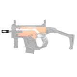 JGCWORKER Aluminum Alloy Knight Flash Hider for Nerf Blaster - Nerf Mod Kits -Worker Mod Kits