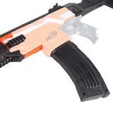 JGCWorker STF-W002 AK-12 B Style Mod Kits Set With Orange Adaptor for Nerf N-Strike Elite Stryfe Blaster - Nerf Mod Kits -Worker Mod Kits