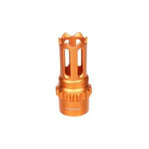 JGCWORKER Aluminum Alloy Screw Thread Type Phantom Flash Hider for Nerf Blaster - Nerf Mod Kits -Worker Mod Kits