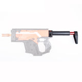 JGCWORKER L-shape Fixed Collapsible Shoulder Stock for Nerf N-strike Elite Stryfe Blaster - Nerf Mod Kits -Worker Mod Kits