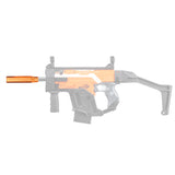 JGCWORKER Phantom Flash Hider + AAC Silencer Kits Set for Nerf Blaster - Nerf Mod Kits -Worker Mod Kits