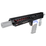 JGCWORKER Integrated Head Tube and Shotgun Grip Kits Set for Nerf N-Strike Elite Retaliator - Nerf Mod Kits -Worker Mod Kits
