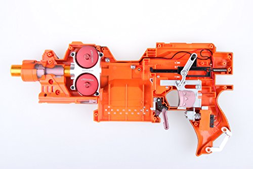 JGCWorker Power Type Aluminum Alloy Flywheels Modification Kits for Nerf N-strike Elite Stryfe/Rapidstrike CS-18 Toy Colour Red - Nerf Mod Kits -Worker Mod Kits