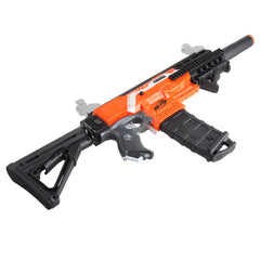 JGCWorker STF-W013 M4 Style Mod Kits Set With Orange Adaptor for Nerf N-Strike Elite Stryfe Blaster - Nerf Mod Kits -Worker Mod Kits