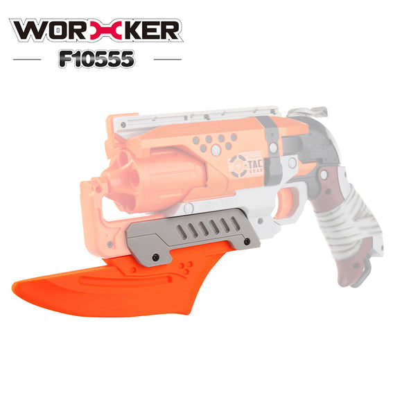 WORKER F10555 NO.217 Mod Kit for Nerf Hammershot attachments Bayonet Style