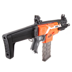 JGCWorker STF-W012 XCR-L Micro Mod Kits Set With Black Adaptor for Nerf N-Strike Elite Stryfe Blaster - Nerf Mod Kits -Worker Mod Kits