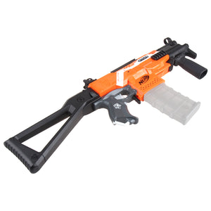 JGCWorker STF-W008-02-A MP5-K B Style Mod Kits Set With Orange Adaptor for Nerf N-Strike Elite Stryfe Blaster - Nerf Mod Kits -Worker Mod Kits