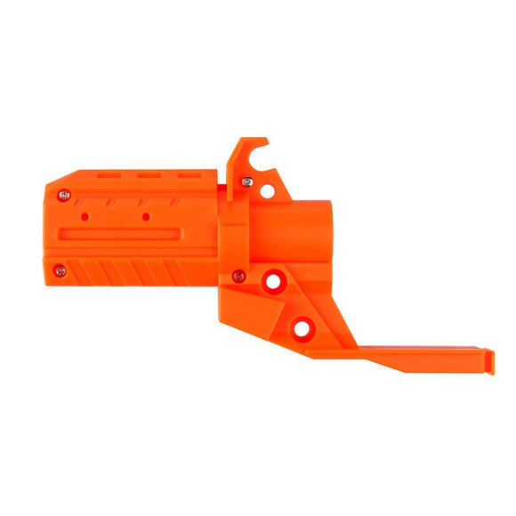 JGCWORKER Straight Style Adaptor Attachment for Nerf Stryfe Blaster Toy Color Orange - Nerf Mod Kits -Worker Mod Kits