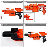 JGCWORKER F10555 Adjustable Combo 15 Items Upgrade Kit for Nerf STRYFE Toy - Nerf Mod Kits -Worker Mod Kits