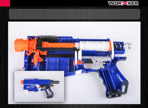 JGCWORKER Carriage Final Stage Kit Frame Push Rod Set for Nerf Retaliator Blaster - Nerf Mod Kits -Worker Mod Kits