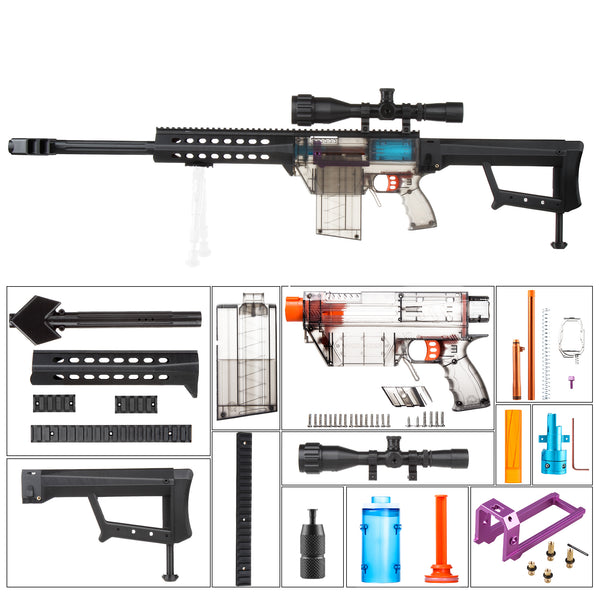 JGCWorker Barrett Mod kits Set for Prophesy-R BlasterToys Gun - Nerf Mod Kits -Worker Mod Kits
