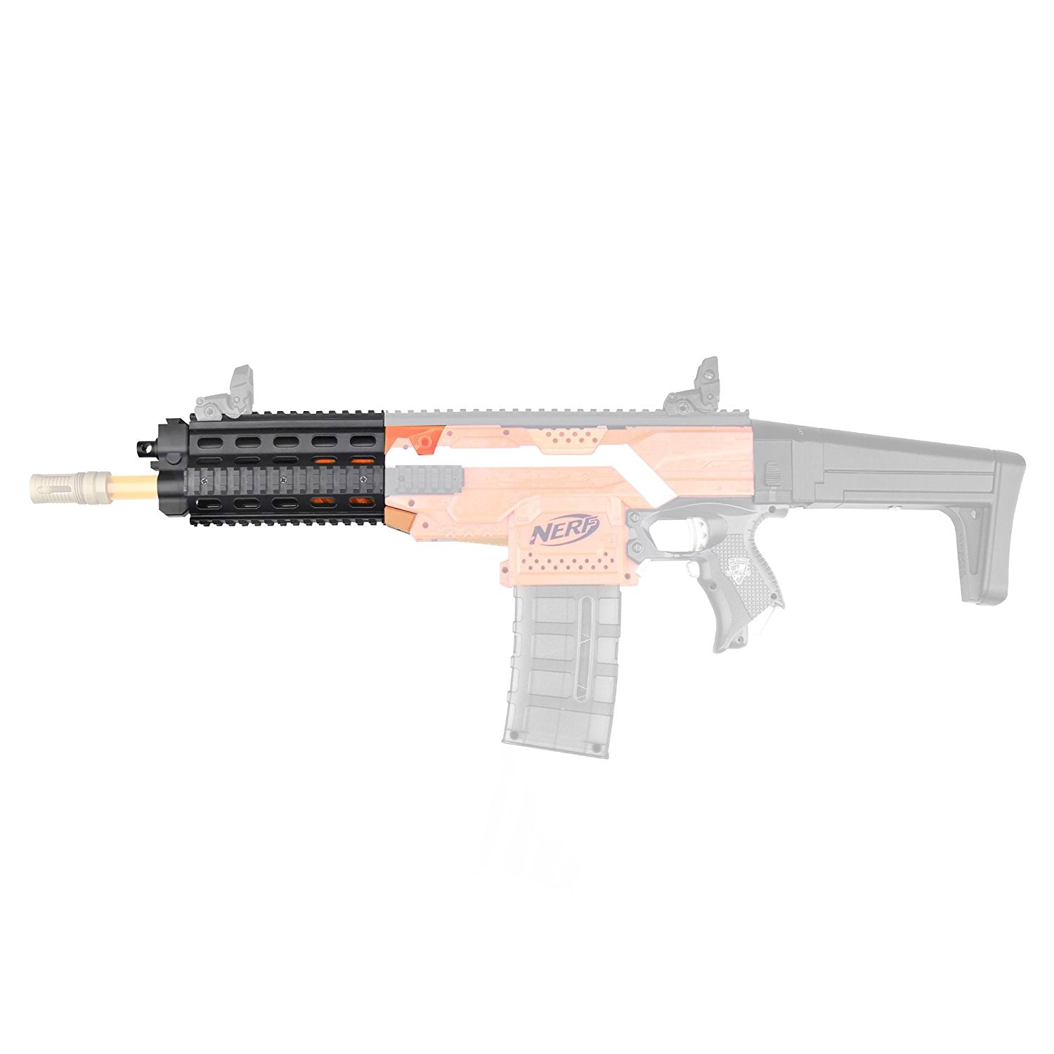 JGCWorker F10555 No.57 3D Printing Modularized Kit without Adaptor for Nerf N-Strike Stryfe - Nerf Mod Kits -Worker Mod Kits