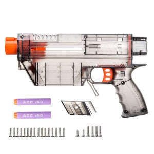 JGCWorker Prophecy Type-R Blaster Shell DIY Full-body Kit for Nerf Retaliator Black - Nerf Mod Kits -Worker Mod Kits