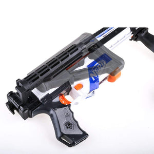 JGCWorker Injection Mold Shoulder Stock Core with Adaptor Parts for nerf N-strike Elite - Nerf Mod Kits -Worker Mod Kits