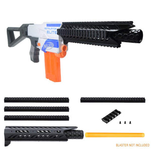 JGCWorker F10555 3D Printing No.109 Viper Barrel Jacket Combo 7 Item for Nerf RETAILATOR Modify Toy - Nerf Mod Kits -Worker Mod Kits