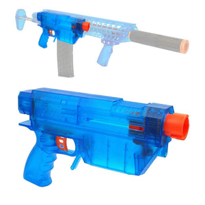 JGCWorker Prophecy Type-R Blaster Shell DIY Full-body Kit for Nerf Retaliator Blue - Nerf Mod Kits -Worker Mod Kits