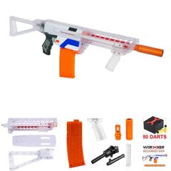 JGCWORKER Short darts Magazine Modulus Kit for Nerf N-Strike Elite Retaliator - Nerf Mod Kits -Worker Mod Kits