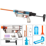 JGCWOKKER Short Dart with A Type Air Pump Powerful Type PROPHECY Blaster Body - Nerf Mod Kits -Worker Mod Kits