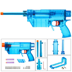 JGCWOKKER Short Dart with B Type Air Pump Precise Type PROPHECY Blaster Body - Nerf Mod Kits -Worker Mod Kits