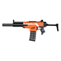 JGCWorker STF-W007-A MP5-SD Style Mod Kits Set With Orange Adaptor for Nerf N-Strike Elite Stryfe Blaster - Nerf Mod Kits -Worker Mod Kits