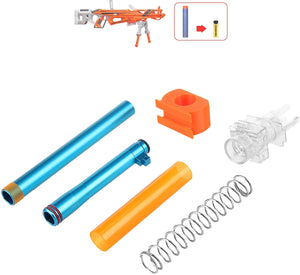 WORKER Short Dart Mod Kit Set for Nerf N-Strike Elite AccuStrike RaptorStrike
