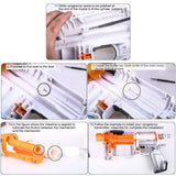 Retaliator Spring, JGCWorker 12KG Modified Upgraded Spring Kit for Nerf Retaliator Blaster - Nerf Mod Kits -Worker Mod Kits