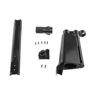 JGCWorker F10555 NO.114 3D Printing MP5-A Front Tube Kits without Adaptor for Nerf N-Strike Stryfe Color Black - Nerf Mod Kits -Worker Mod Kits