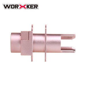 WORKER Longshot Metal Connector for Nerf Longshot CS-12 - Rose Gold