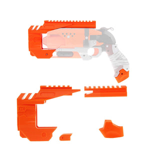 WORKER Mod Kit Set for Nerf Zombie Strike Hammershot Blaster Attachment