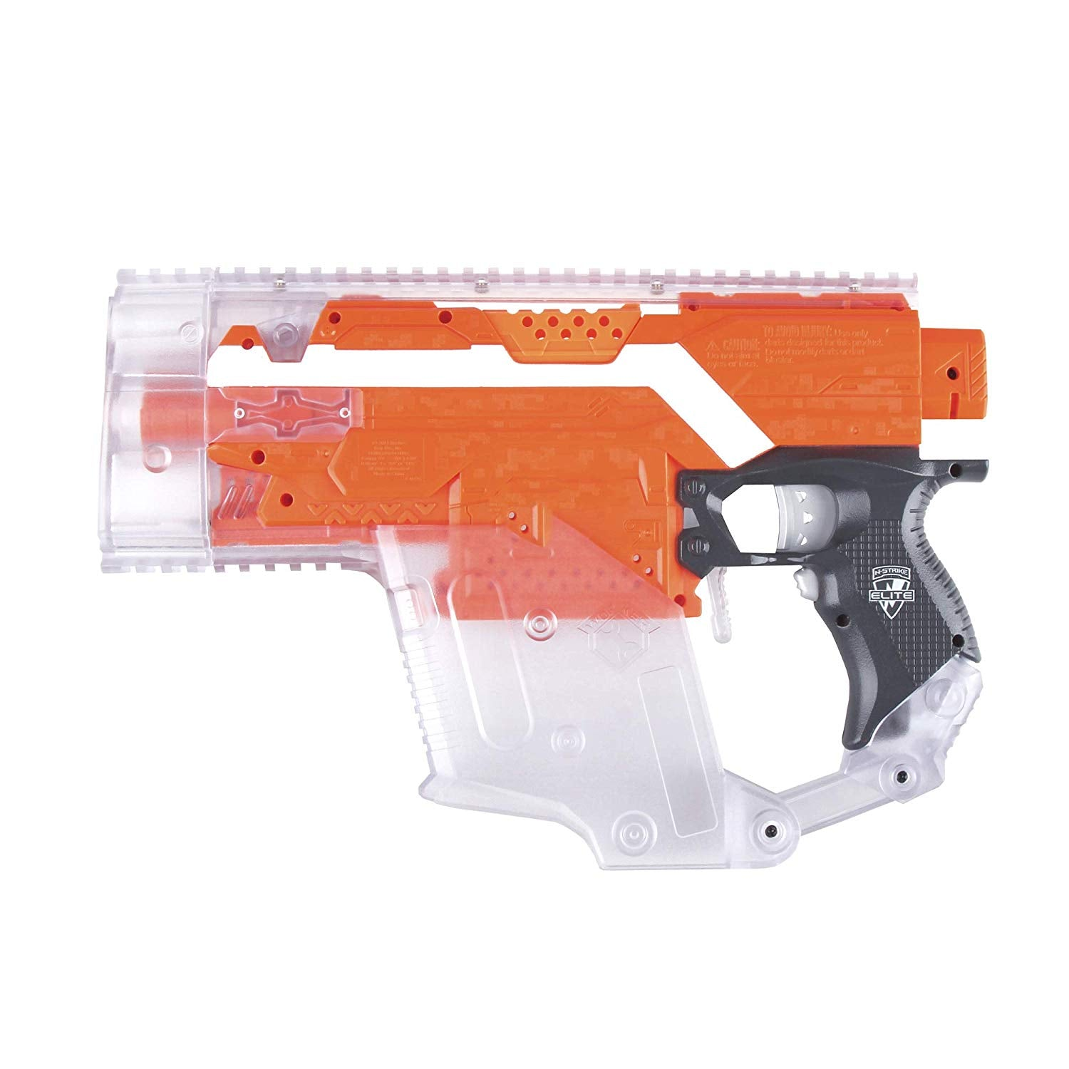 WORKER Top Patch Mod kit for Nerf Stryfe Attachment